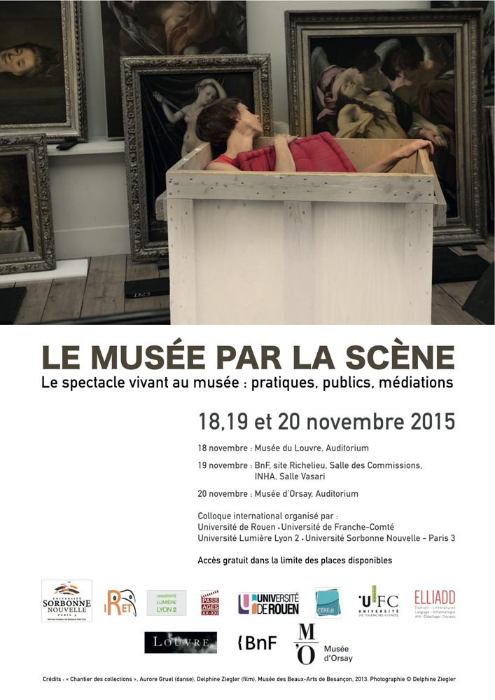 Programme Colloque Musée Scène