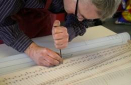 Construction d'un clavecin (en cours)